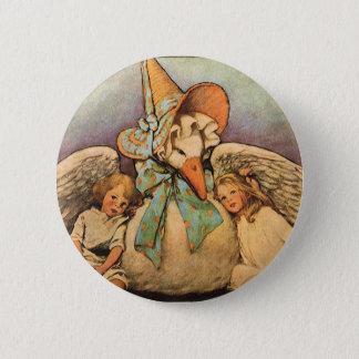 Vintage Mother Goose Children Jessie Willcox Smith 2 Inch Round Button