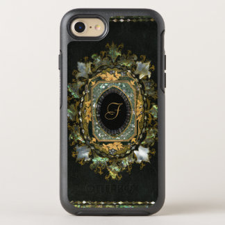Vintage Mother Of Pearl Hand Made Book Cover OtterBox Symmetry iPhone 7 Case