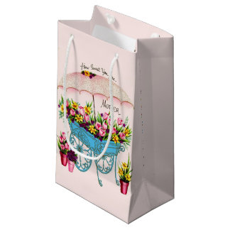 Vintage Mother's Day Small Gift Bag