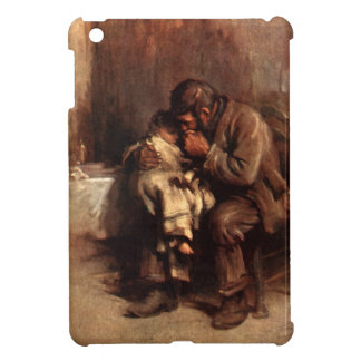 Vintage Motherless Child Father Baby Antique iPad Mini Covers