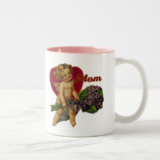 Vintage Mother's Day Two-Tone Coffee Mug