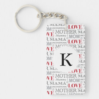 Vintage Mother's Love Mother's Day or Birthday Keychain