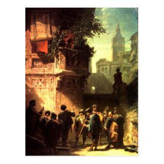Vintage - Motive  The Serenate Postcard