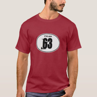 Vintage Motocross Dirt Bike Number Plate - White T-Shirt