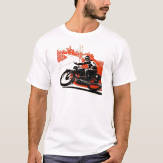 Vintage Motor Bike Race T-Shirt