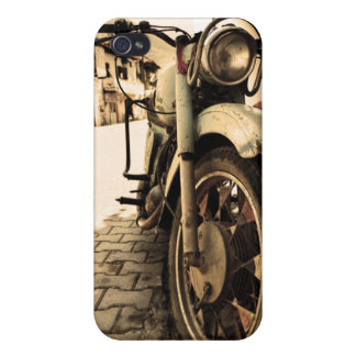 Vintage Motorcycle Case For iPhone 4