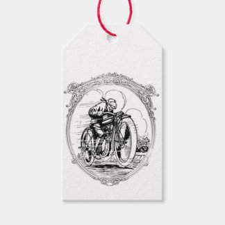 Vintage Motorcycle- Fathers Day-Birthday Pack Of Gift Tags