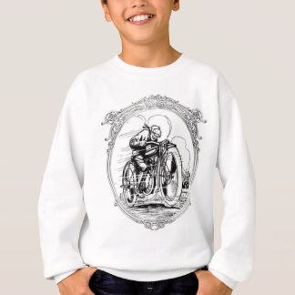 Vintage Motorcycle- Fathers Day-Birthday Sweatshirt