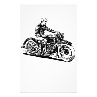 Vintage Motorcycle Stationery
