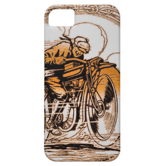 Vintage Motorcycle Traveler iPhone 5 Covers