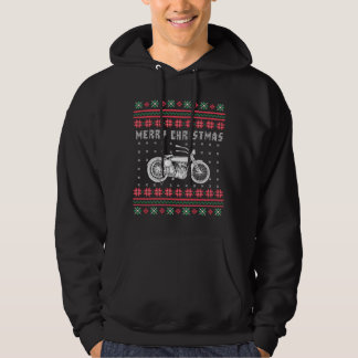 Vintage Motorcycle Ugly Christmas Sweater