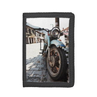 Vintage Motorcycle Wallet