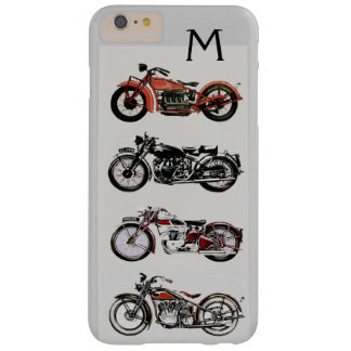 VINTAGE MOTORCYCLES MONOGRAM BARELY THERE iPhone 6 PLUS CASE