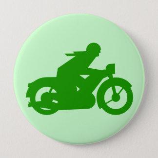 VINTAGE MOTORCYCLIST Round Button