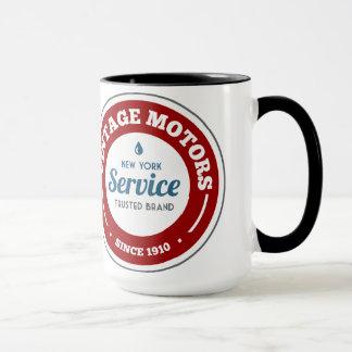 Vintage Motors Circular Logo Mug