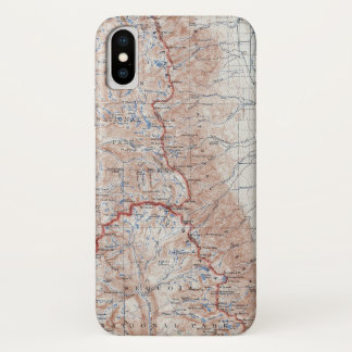 Vintage Mount Whitney Topographical Map California Case-Mate iPhone Case