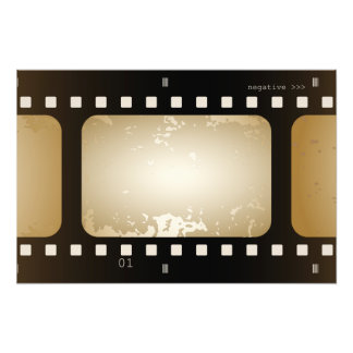 Vintage Movie Photographer Film Strip Film Role Photo Art