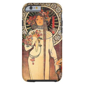 Vintage Mucha Art Deco iPhone 6 case Tough iPhone 6 Case