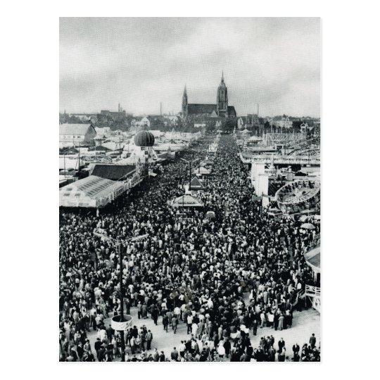 Vintage Munich, Oktoberfest Postcard
