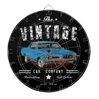 Vintage Muscle Car Company Dartboard