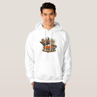 Vintage Muscle Car Show Awsome Graphic Hoodie