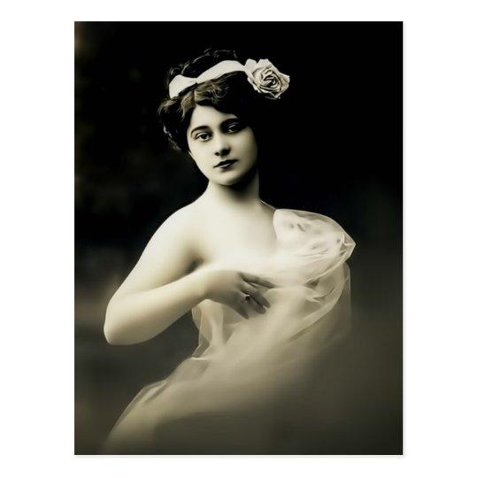 Vintage Muse I Postcard
