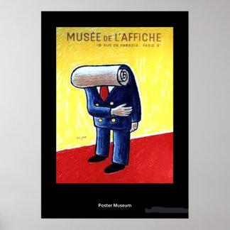 Vintage Museum de L'affiche Poster