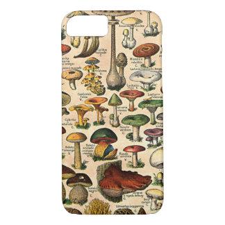 Vintage Mushroom Guide iPhone 7 iPhone 8/7 Case