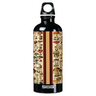 Vintage Mushroom Guide Liberty Bottle
