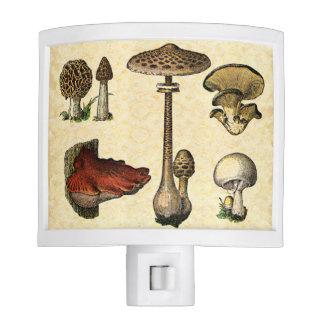Vintage Mushroom Nightlight Nite Light