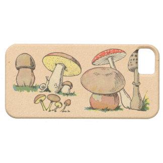Vintage Mushroom Print iPhone 5 Covers