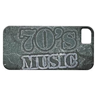 Vintage music 70's graphic design iPhone 5 case
