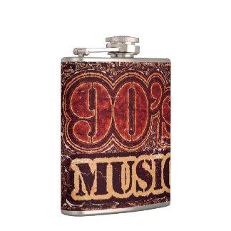 Vintage Music 90 s Hip Flask