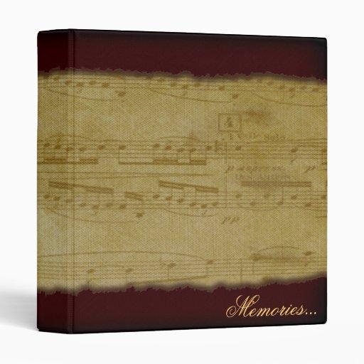 Vintage Music, binder