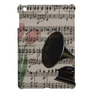Vintage music design iPad mini cover