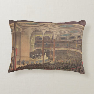 Vintage Music, Jenny Lind, Swedish Opera Singer Accent Pillow
