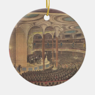 Vintage Music, Jenny Lind, Swedish Opera Singer Ceramic Ornament