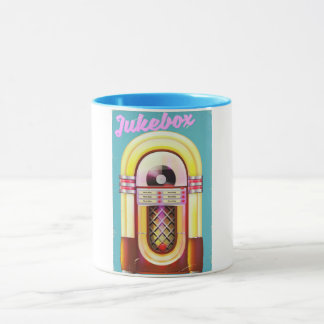 Vintage Music Jukebox Mug