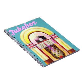 Vintage Music Jukebox Notebooks