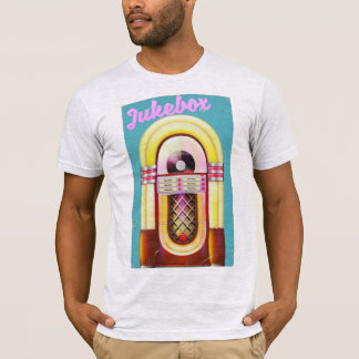Vintage Music Jukebox T-Shirt