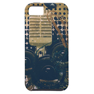 Vintage Music Microphone2 Case For The iPhone 5