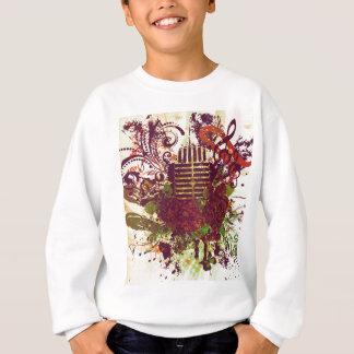 Vintage Music Microphone Sweatshirt
