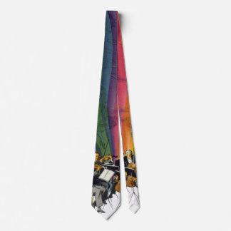 Vintage Music Rainbow, Victorian Couple Dancing Tie