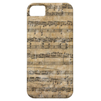 Vintage Music Score iPhone 5 Covers