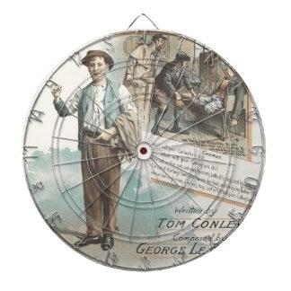 Vintage Music Song Sheet Poor Callaghan Chorus Dartboards