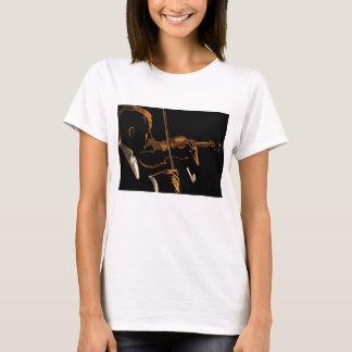 Vintage Musician, Violinist Playing Violin Music T-Shirt