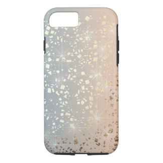 Vintage Muted 1920 Glam Gold Star Foil Sparkle iPhone 7 Case