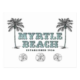 Vintage Myrtle Beach South Carolina Est 1938 Postcard