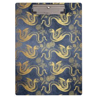 Vintage Mythology Fantasy Dragon Wallpaper Clipboard