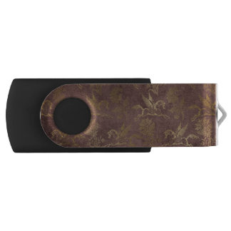 Vintage Mythology Fantasy Pegasus Wallpaper Swivel USB 3.0 Flash Drive